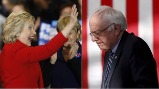 Hillary Clinton already has a big lead over Bernie Sanders.