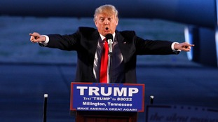 Donald Trump has won three out of four Republican contests.