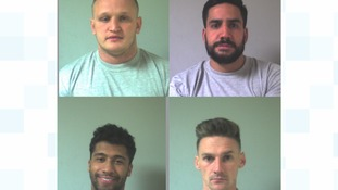 Four sentenced after Fleetwood cash-in-transit robbery