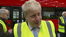 Mayoral front runners signal the end for the 'Boris Bus'.