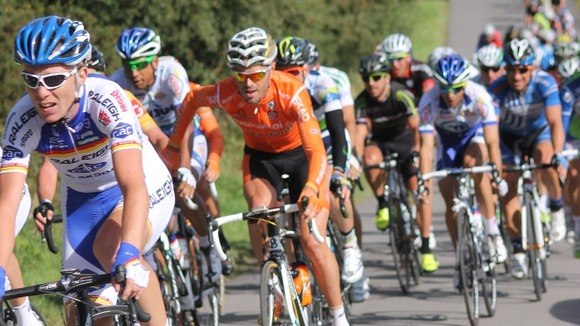 Tour of Britain passes Cannock chase