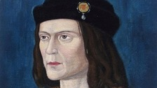 A portrait of King Richard III.