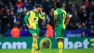 Norwich City suffered yet more heartbreak at Leicester City.