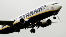 Six members of an unruly stag party forced a Ryanair flight to make an unscheduled stop