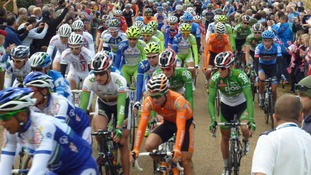 Tour of Britain at  Trentham, Staffordshire