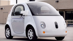 Google self-driving car crashed into a city bus