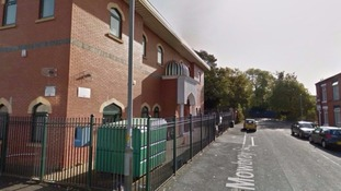 The boy is believed to have been leaving the mosque when he was hit by a car on Monday afternoon.