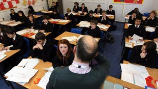 Children will find out which secondary school they have been accepted into