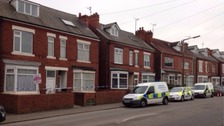 The bodies were found at a house in Shirebrook
