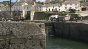 Cornish harbour up for sale