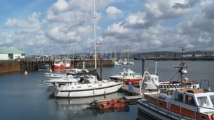 Stranraer harbour