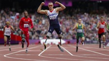 Paralympic gold medallist Richard Whitehead 