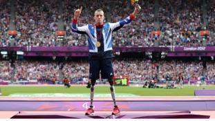 Paralympic gold medallist Richard Whitehead