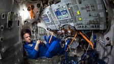 Scott Kelly spent a year in space