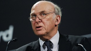 Business Secretary Vince Cable.