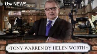 Helen Worth pays tribute to Tony Warren