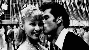 'Grease' starring John Travolta and Olivia Newton-John