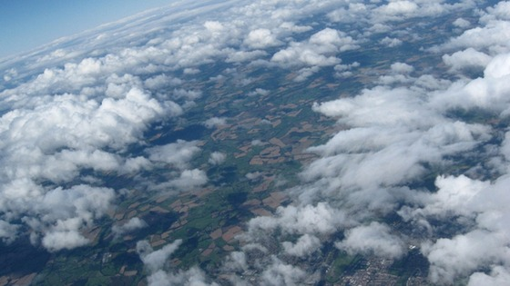 Worcester from the sky