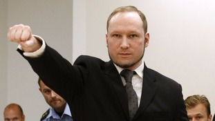Mass killer Anders Breivik says life in prison is 'inhuman'