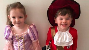 Harry and Maisey aka Rapunzel and Captain Cook - Gateshead