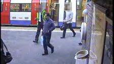 CCTV still of Dr Farooq's movements on 16th September 2010.