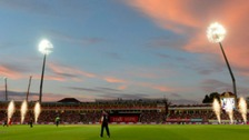 Northamptonshire Steelbacks take on Lancashire Lightning during the NatWest T20 Blast Final at Edgbaston, Birmingham.