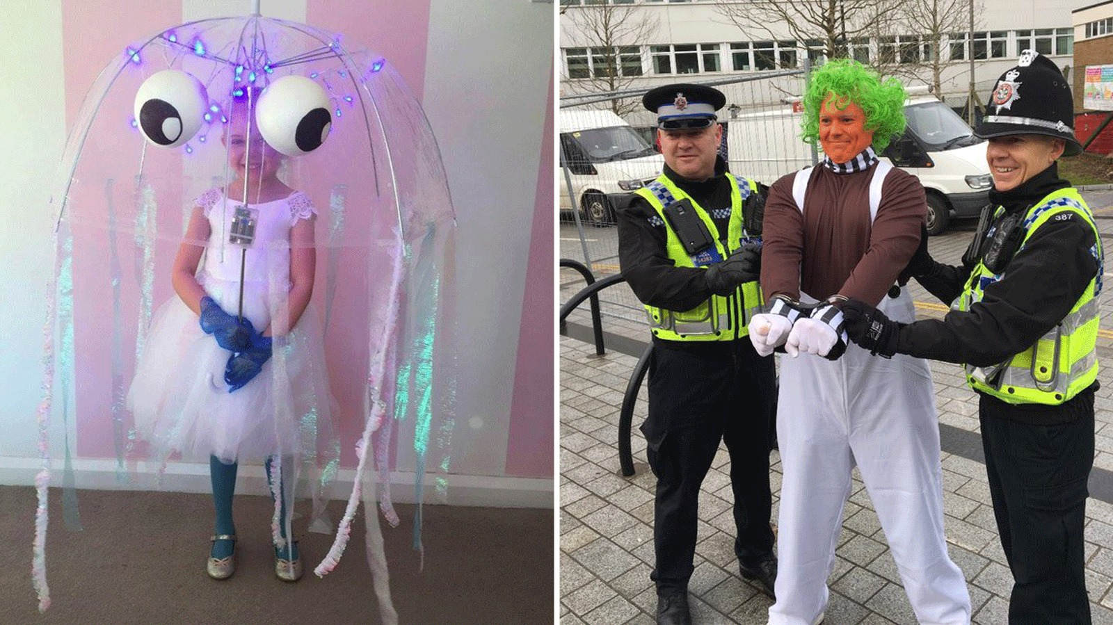 Classroom Ideas For World Book Day ~ Story characters come alive for world book day itv news