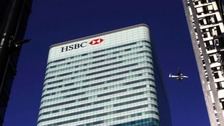 HSBC's retain banking unit is moving from it's base in London to Birmingham.