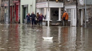 Flooding in Kendal following Storm Desmond