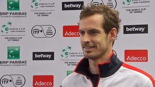 Andy Murray says being a good dad is his top priority now