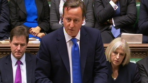 David Cameron.