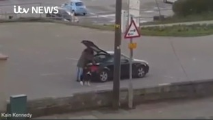 Homeless man filmed getting into his sports car says he's received death threats