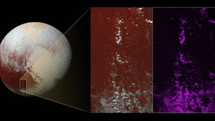 Nasa: 'Chain of snow-capped mountains' discovered on Pluto