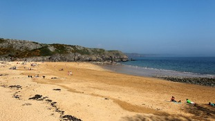 Barrafundle beach