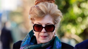 Rula Lenska banned from roads after drink driving crash with grandson in back seat