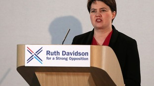 Ruth Davidson's election tactic: Vote for me to be the opposition