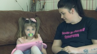 Mother's appeal for help with daughter's rare condition