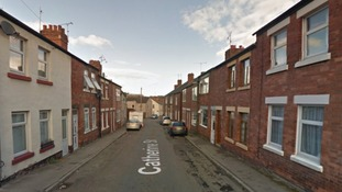 Police were alerted by Derbyshire Fire and Rescue that a fire had started at a house in Catherine Street on Thursday morning.