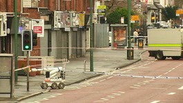 New IRA 'claims responsibility for bomb attack that injured officer'