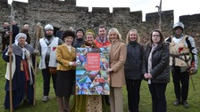 English Tourism Week is launched at Brougham Hall near Penrith