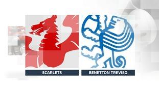 Scarlets 24 - 15 Benetton Treviso