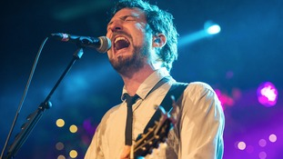 Singer/Songwriter Frank Turner at the recent six music festival in Bristol