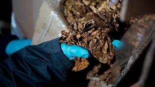 Cigarettes and tobacco seized in crackdown on illicit trade