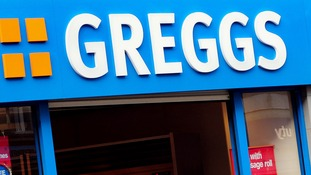 Greggs bakery shop