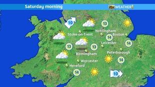 Sunny spells this morning