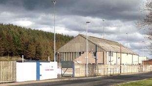 Teens shot by air gun at Scottish football ground