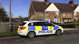 Wayne Baxter, 44, was found stabbed at a house on Croft Bank near Skegness on Wednesday