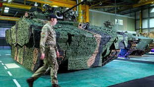 250 jobs created for new armoured vehicle engineering factory in Merthyr