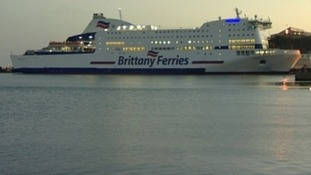 Brittany Ferries dispute disrupts passengers