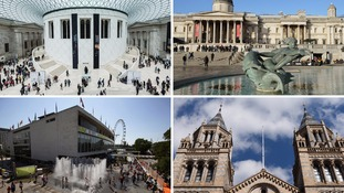 More people visit some of London's top tourist attractions than Venice, Barcelona or Hong Kong